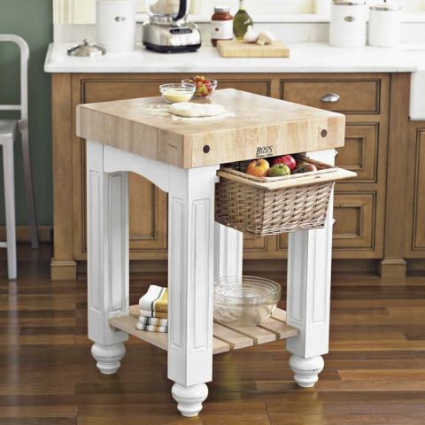 6 Best Butcher Block Kitchen Islands Under 1000 Wood