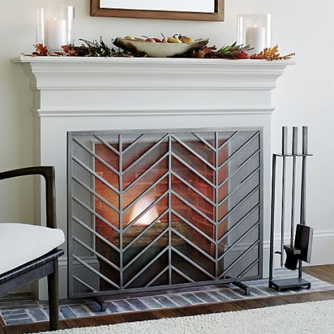 Fireplace Screens 10 best fireplace screens for winter 2017 - decorative metal
