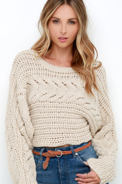 10 Best Cropped Sweaters For Fall 2018 Crop Top Sweaters