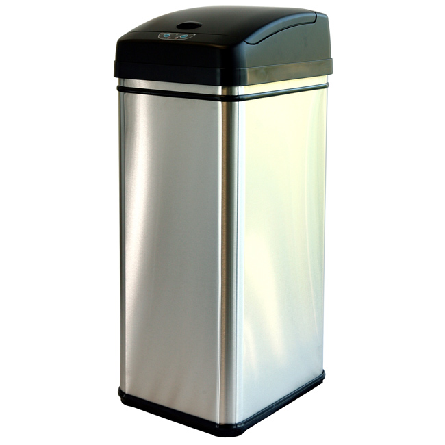 . 10 Cheap Stainless Steel Trash Cans 2017   Best Stainless Garbage Cans