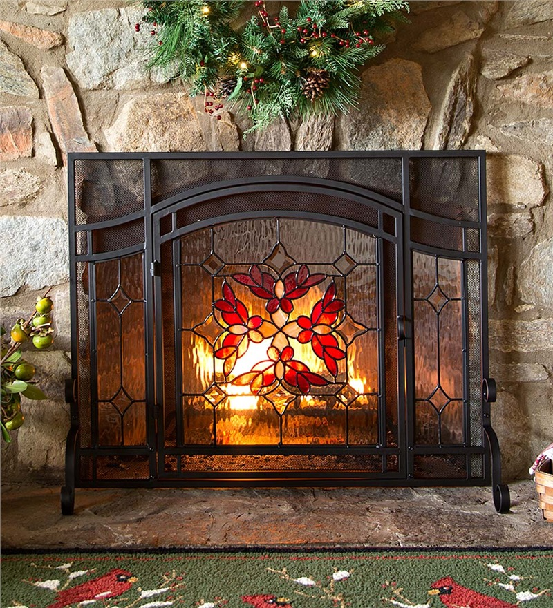 10 Best Decorative Fireplace Screens 2016 Best Mesh