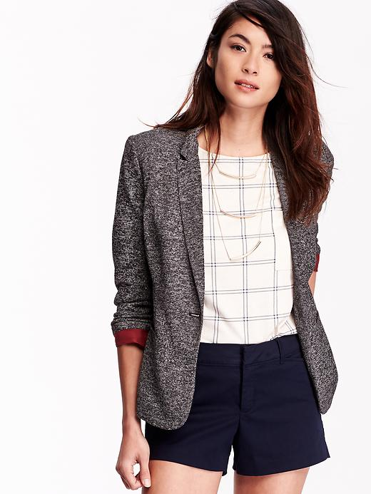 2014 nuevo chaqueta americana mujer talla grande trajes