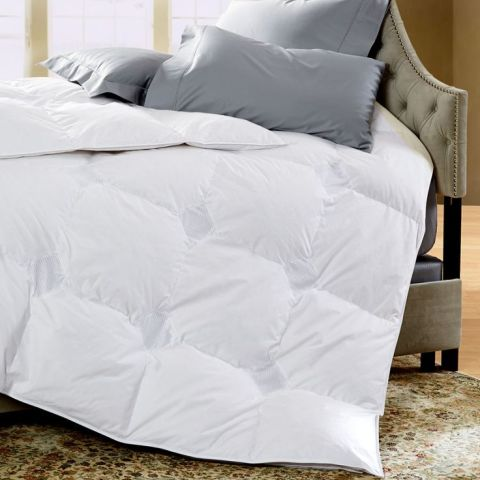 cuddledown 700 fill power temperature regulating down comforter