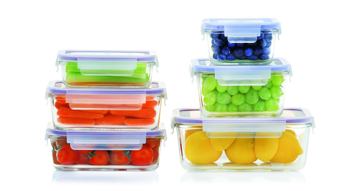 10 Best Glass Tupperware Sets And Storage In 2016 Glass