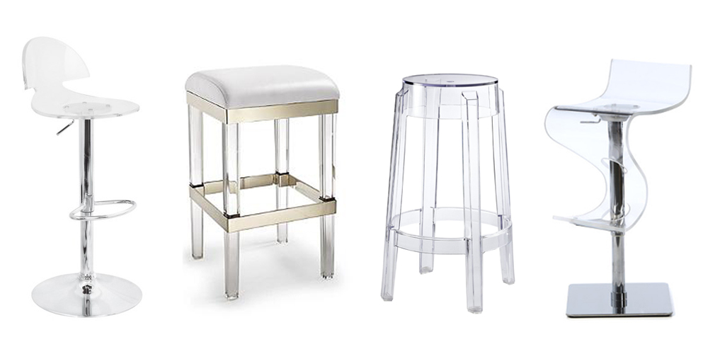 10 Best Acrylic Bar Stools 2018 Clear Acrylic Bar Stools