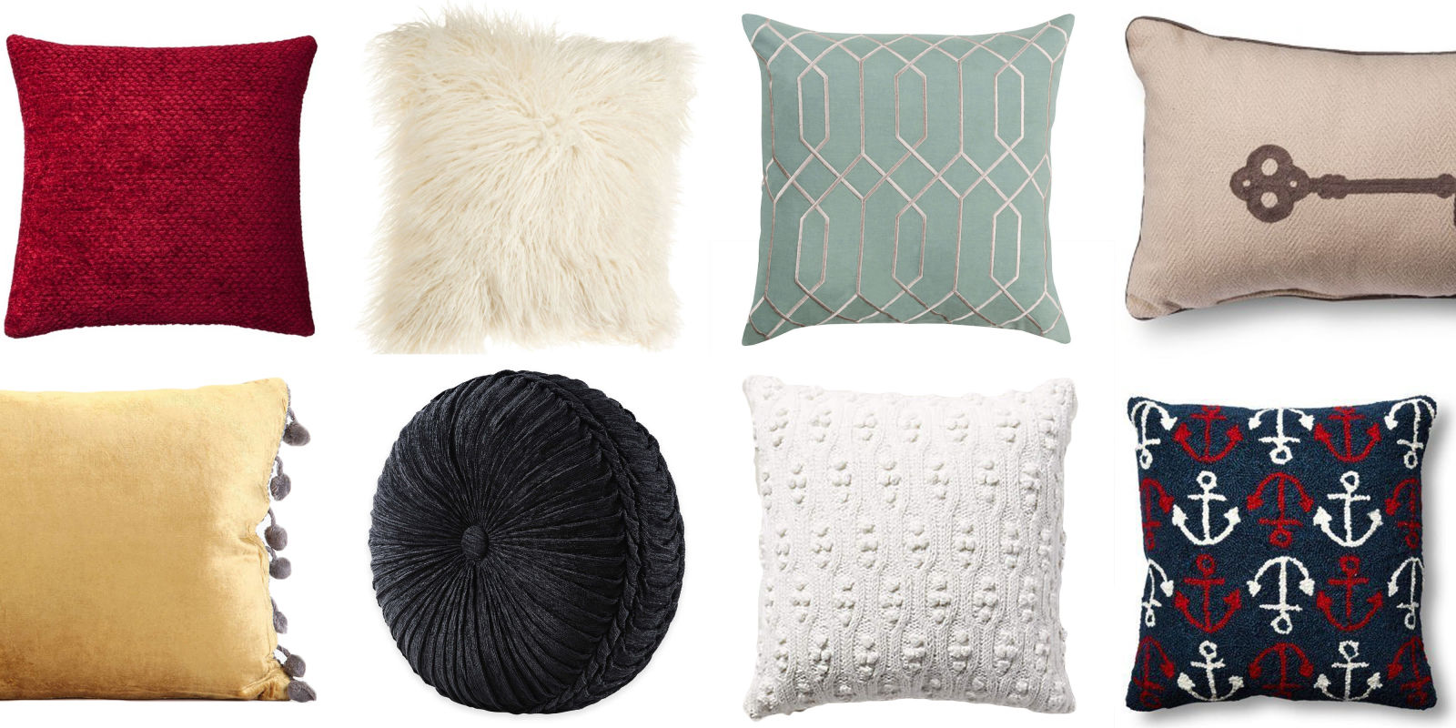 10 decorative throw pillows for the couch