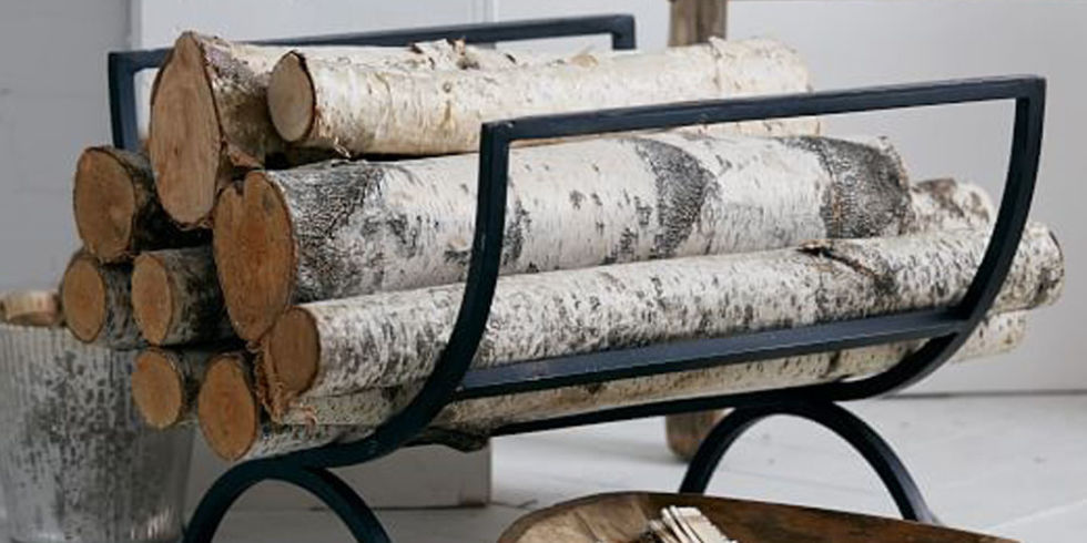 13 Best Firewood Log Holders for Winter 2017 - Indoor Firewood Log ...