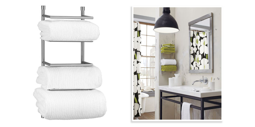 10 best bathroom towel racks 2017 - chic towel bars & racks