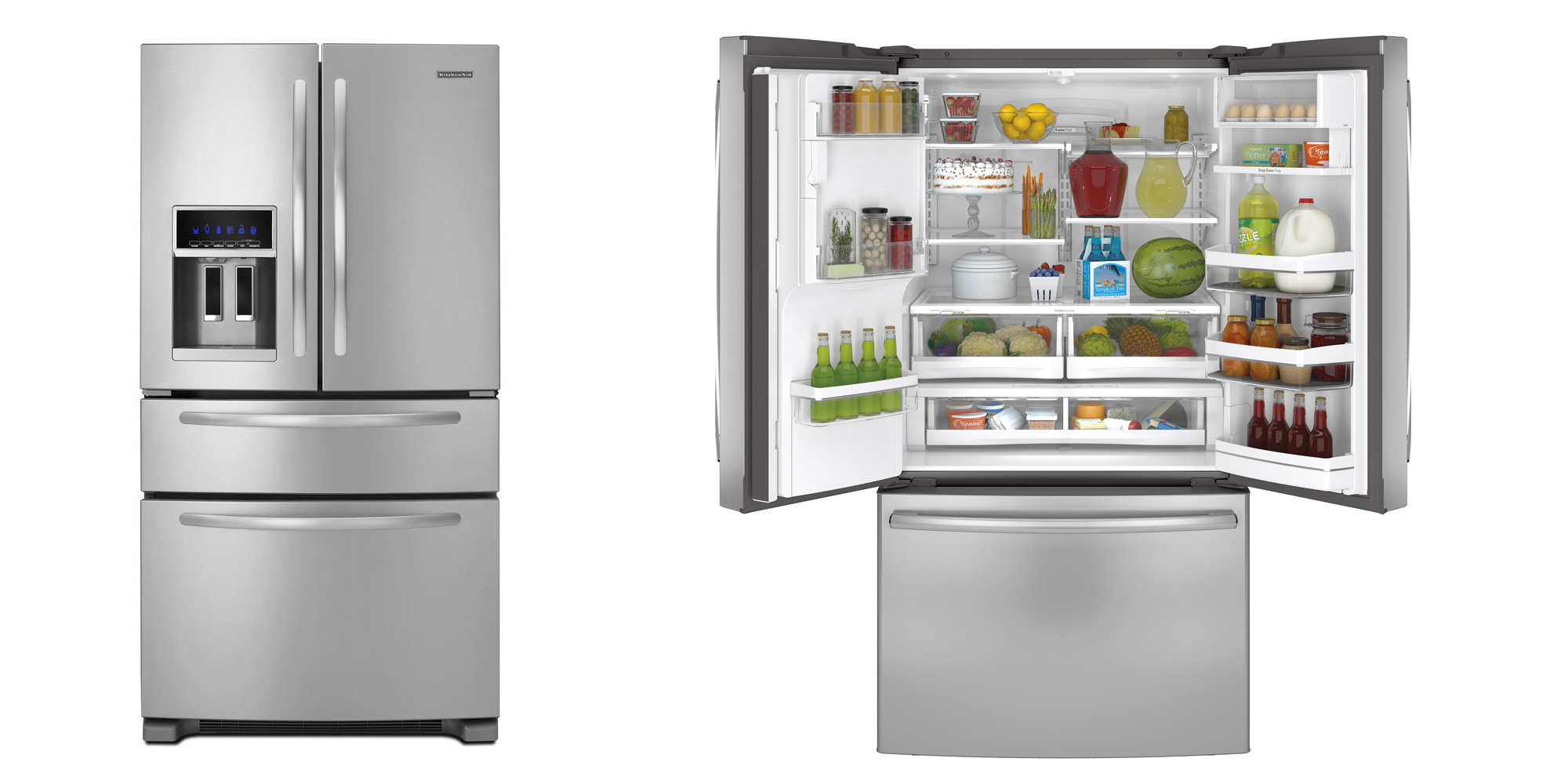 11 Best Stainless Steel Refrigerators In 2017 Top French