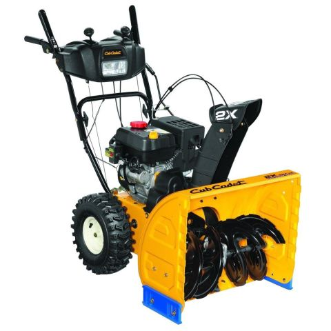 Cub Cadet 26-Inch 3-Stage Gas Snow Blower With Power Steering