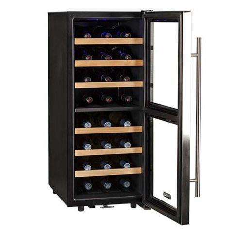 Koldfront 24 Bottle Freestanding Dual-Zone Wine Fridge