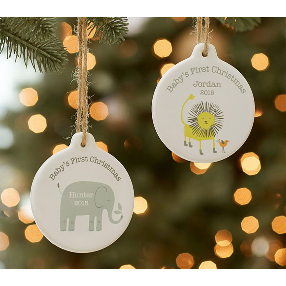 Christmas ornaments for baby - 15 Best Baby S First Christmas Ornament Ideas For 2017 Personalized Baby Ornaments