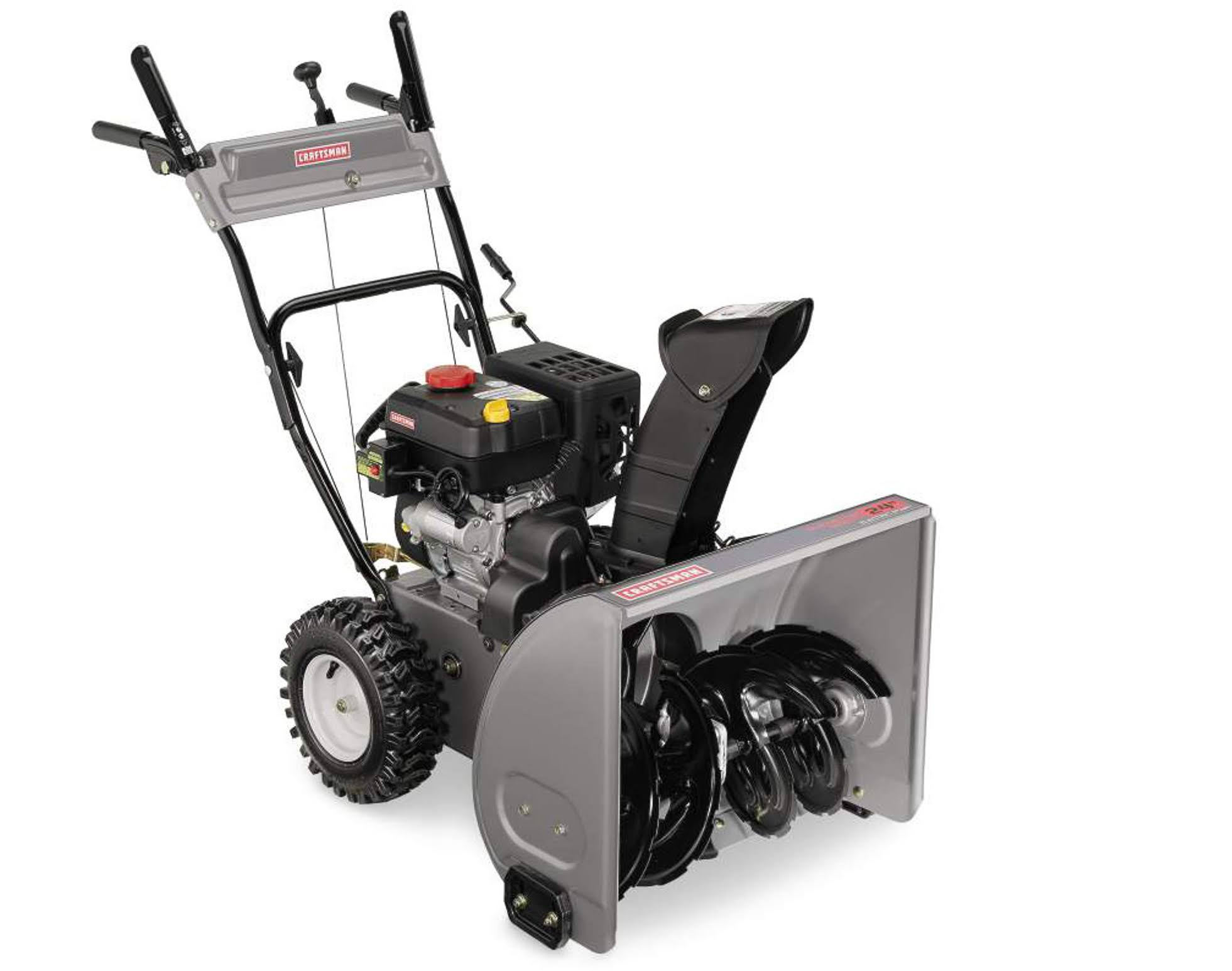 Compare Electric Snow Blowers : Craftsman cc dual stage snowblower g