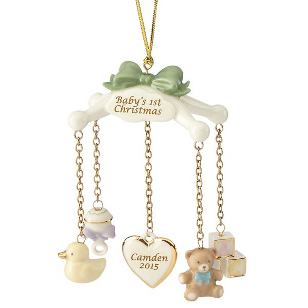 13 Best Babys First Christmas Ornament Ideas for 2017