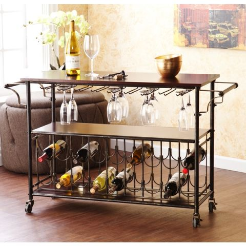 16 Best Bar Carts In 2017 Reviews Of Decorative Bar