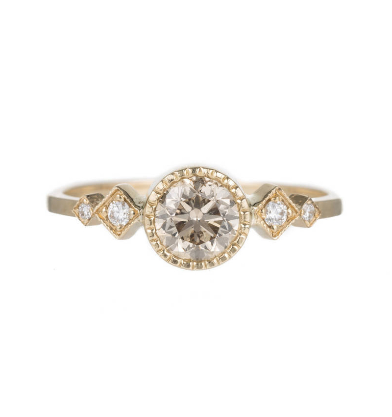 15 Most Unique Engagement Rings of 2016 Affordable Alternative Engagement R