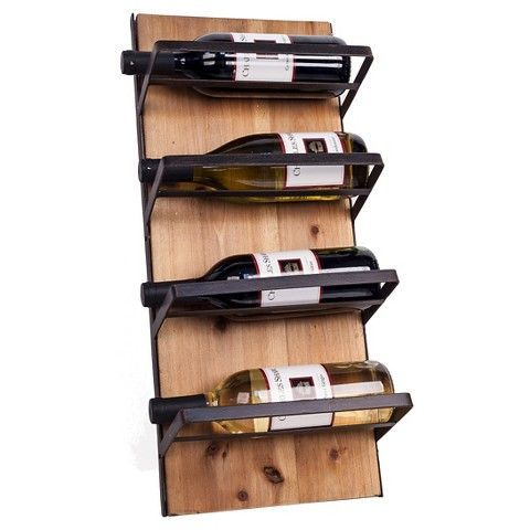 14 Best Wall Mounted Wine Racks 2017 Wall Wine Bottle