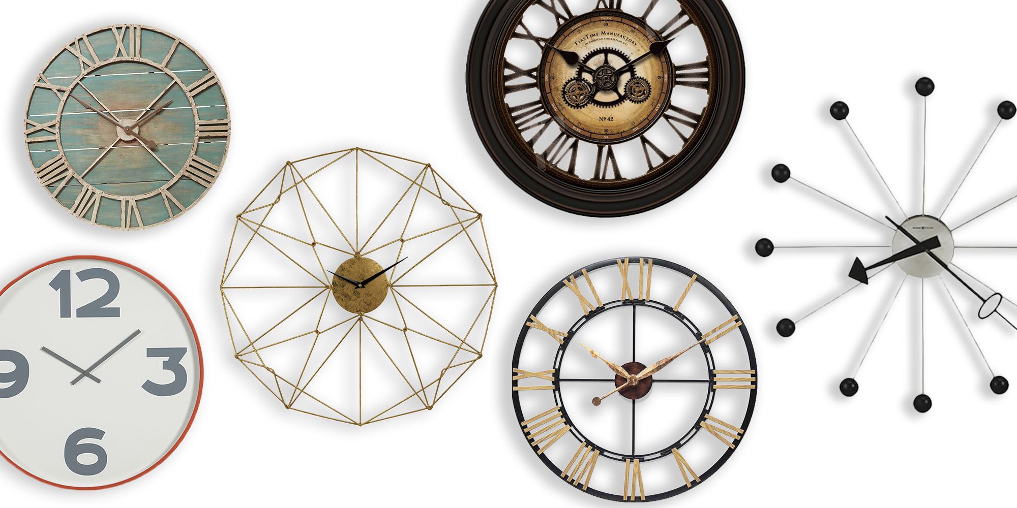 Best Decorative Oversized Wall Clocks 2018