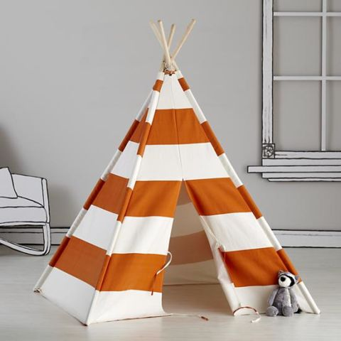 Original teepee, kids Teepee, tipi, Play tent, wigwam or playhouse with  canvas