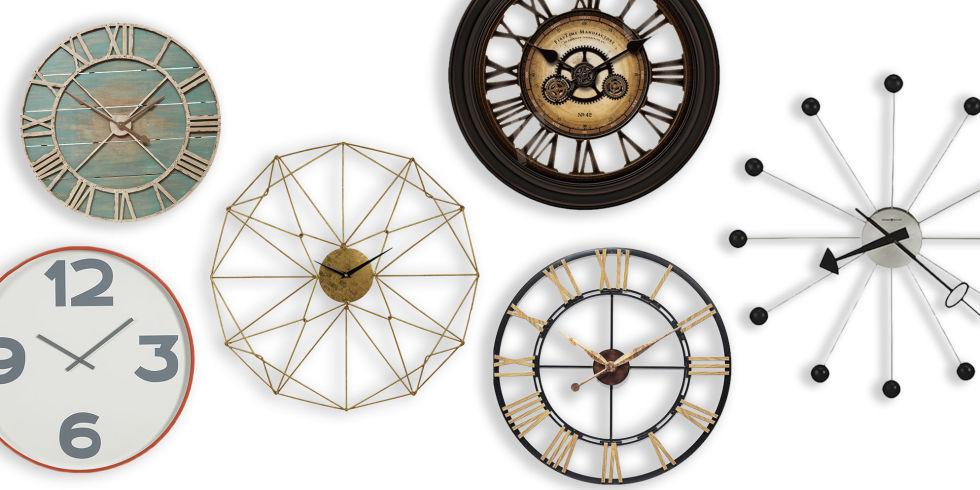 Best Decorative Oversized Wall Clocks 2018 - 11 Large Wall Clocks