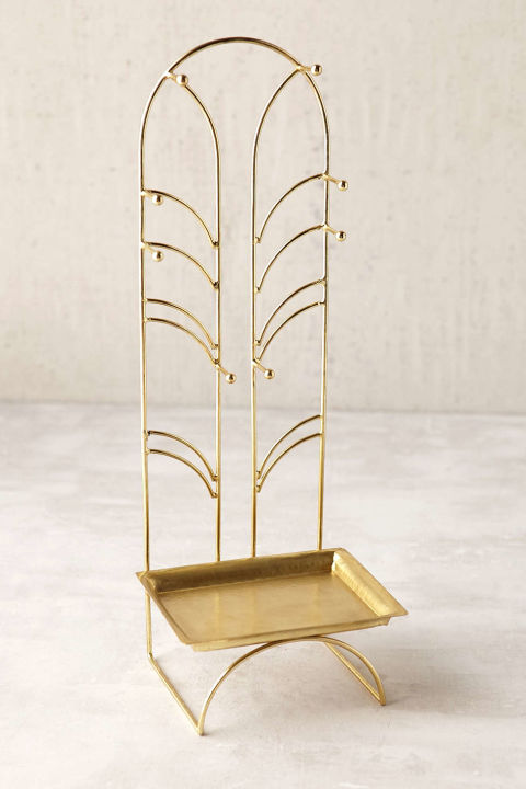 Luxury Gold Jewelry Holder Jewellrys Website