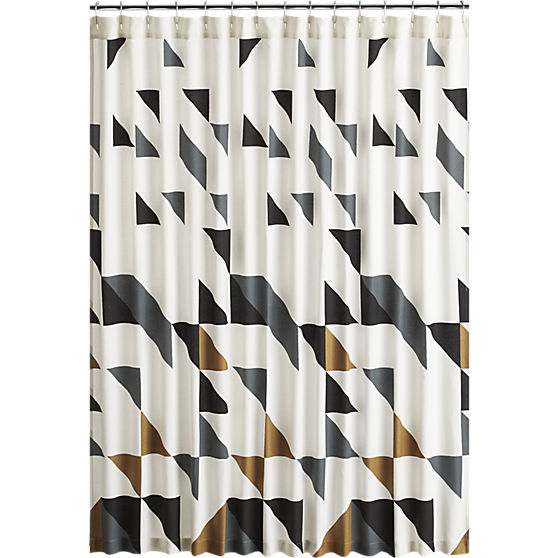 11 Unique Fabric Shower Curtains