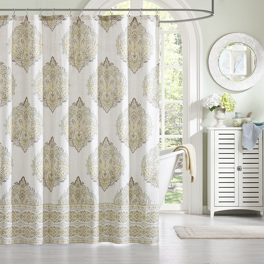 11 unique fabric shower curtains cloth fabric shower curtains for every decor Bathroom decor ideas with shower curtain