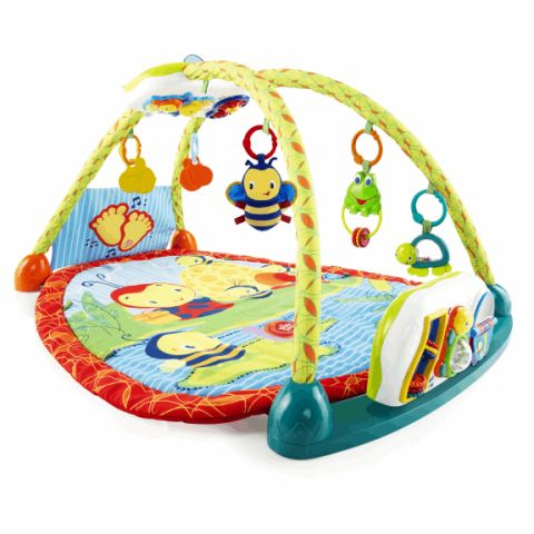 12 best baby activity mats in 2017 play gyms and activity mats for baby. Black Bedroom Furniture Sets. Home Design Ideas