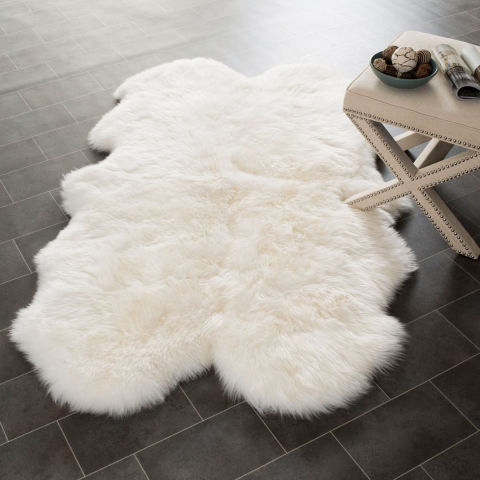 best sheepskin rugs   reviews of wool and faux sheepskin, Rug/