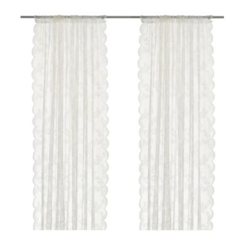 10 Best Lace Curtains in 2017 - Classic Sheer Lace Curtains ...