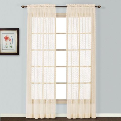10 Best Lace Curtains in 2018 - Classic Sheer Lace Curtains ...