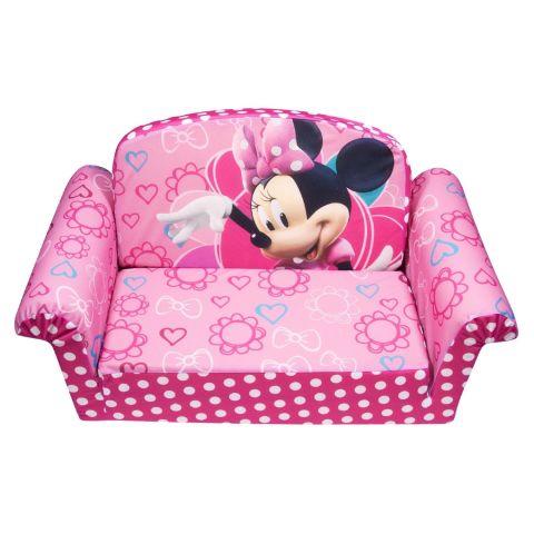 Marshmallow Furniture Minnies Bowtique Flip Open Sofa