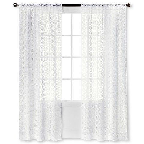 White Curtains black and white curtains target : Curtains Target. Kitchen Curtains Valances Target. Burnt Orange ...