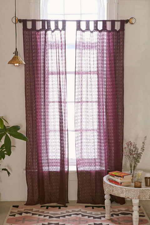 plum u0026 bow lace curtain