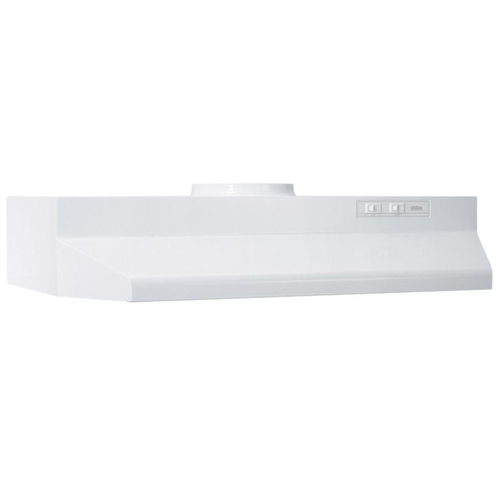 White Range Hood ~ Top range hoods in best sleek kitchen
