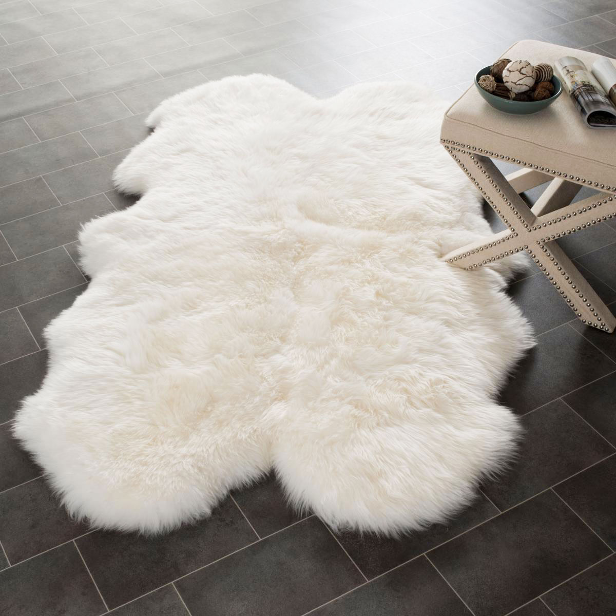 10 Best Sheepskin Rugs 2016 Reviews Of Wool And Faux