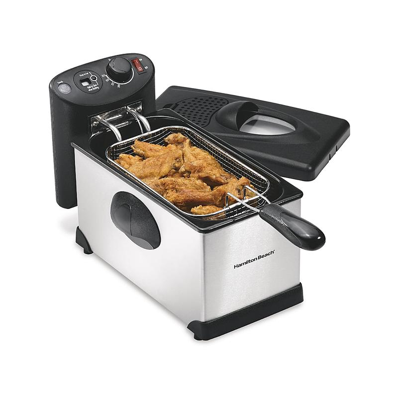 10 Best Electric Deep Fryer Reviews 2017 Best Deep Fryers For Home Use