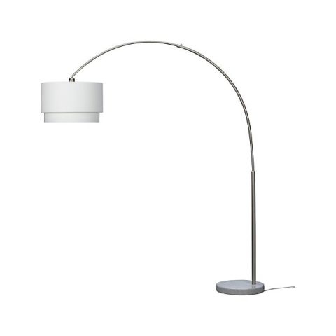 Crate Barrel Meryl Arc Floor Lamp