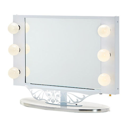 Vanity Girl Lighted Mirror : 10 Best Lighted Makeup Mirrors in 2017 - Makeup and Vanity Mirrors With Lights