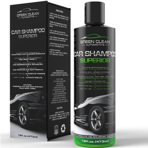 $43 BUY NOW  There are a ton of great car soaps on the market today, but it seems to be slim pickings when you're looking for something that's at least a little eco-friendly. This car shampoo from Green Clean Automotive uses plant-based surfactants and vegetable glycerin — rather than harsh solvents — to get your car shining again.  More: Best Rubber Floor Mats for Fun or Practicality