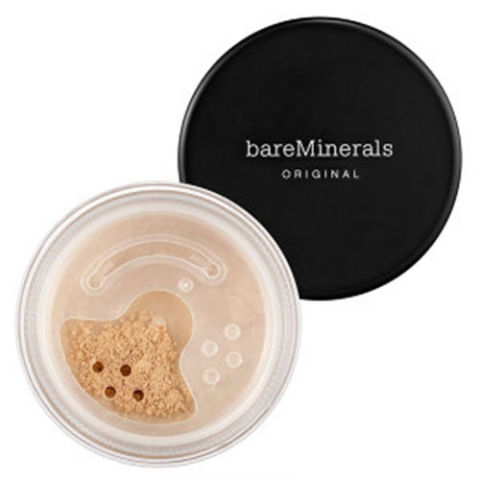 $28, bareescentuals.com This mineral foundation from bareMinerals is recognized as one of the best. Made from a basic formula of no more than five ingredients, it applies like a powder, but resembles a cream-like texture for a flawless, almost naturally illuminated complexion.