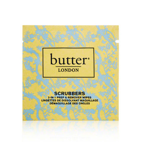 $10 for pack of 10, butterlondon.com These Butter London remover wipes are best for traveling nails desperate for a re-do. All it takes is just one swipe for each individually packaged, two-in-one Scrubber to wash polish completely away. More: 2016's Best Nail Polish Remover Wipes