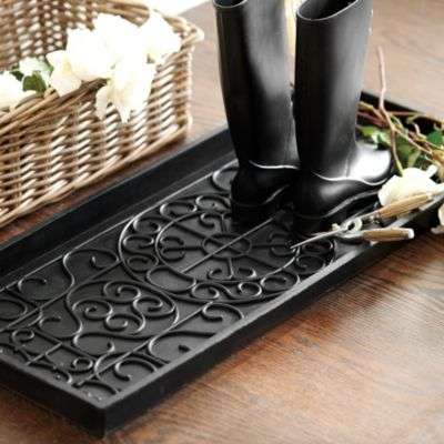13 best boot trays and mats for winter 2018 metal and rubber boot trays. Black Bedroom Furniture Sets. Home Design Ideas