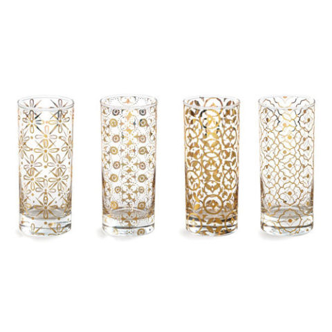 rosanna kashmir highball glasses - Highball Glasses