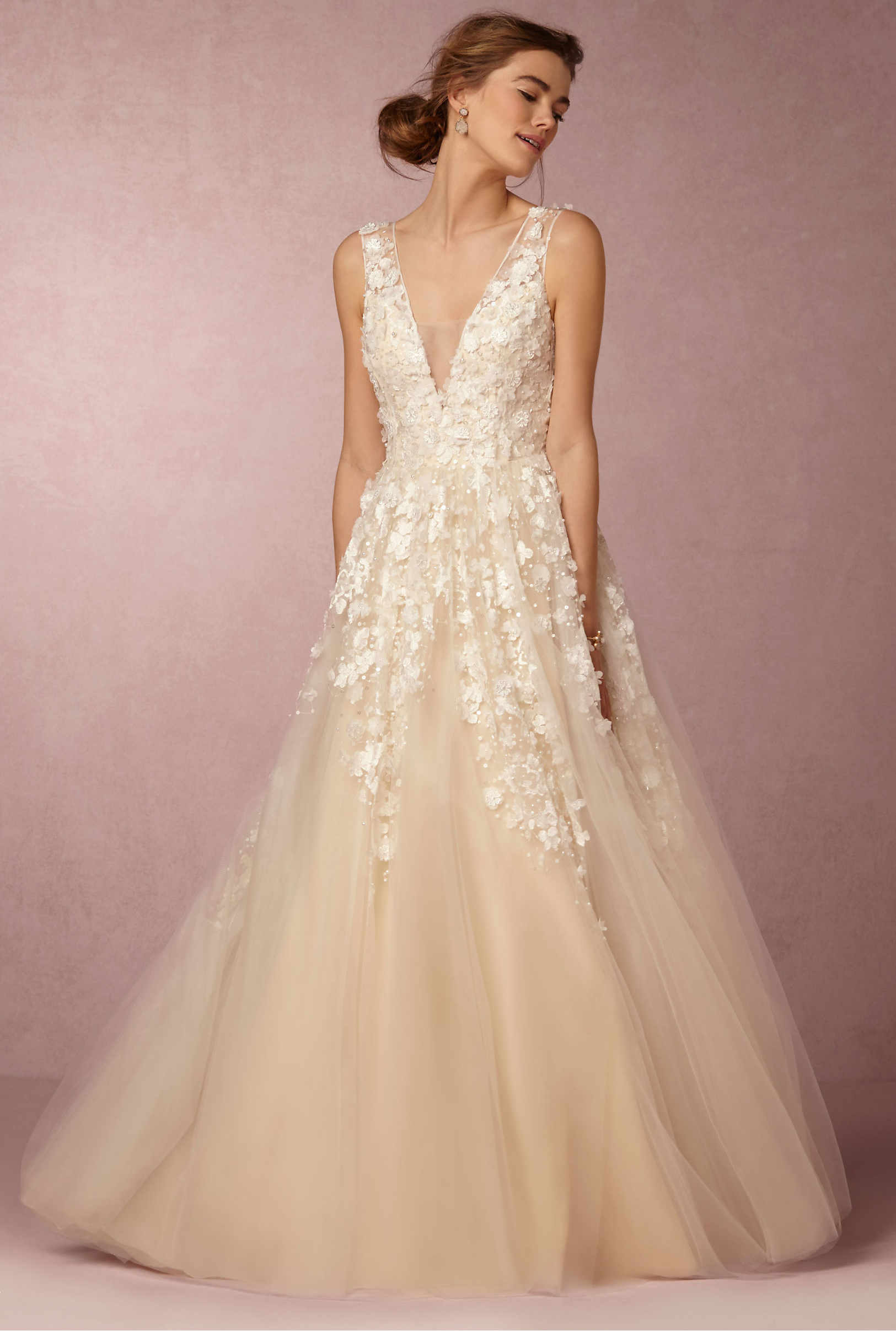 Bridal Gowns With Flowers : Best winter wedding dresses for