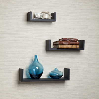 Floating Bookshelves 14 best floating wall shelves in 2017 - chic wall mounted floating