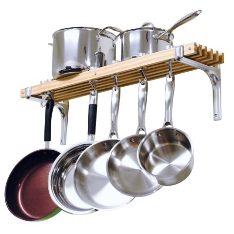 10 Best Pot Racks For Your Kitchen in 2017 Hanging and Wall