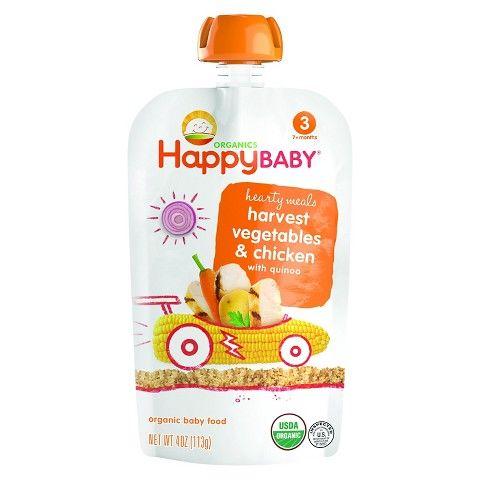 Happy Baby Organics Food