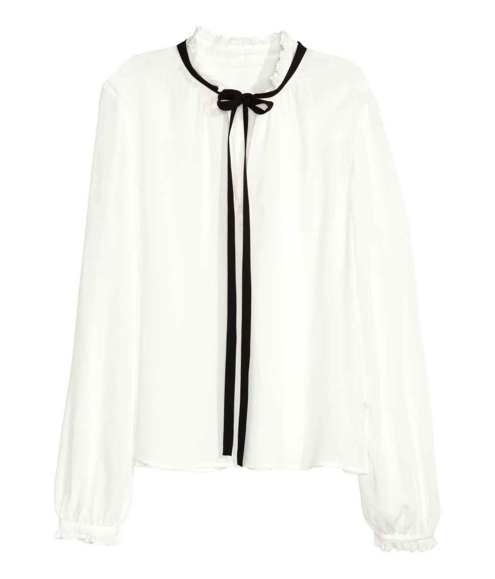9 Best Ruffle Blouses For Fall 2018 Pretty Ruffled Tops