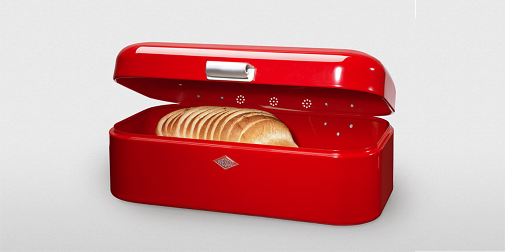 & 8 Best Bread Boxes and Bins in 2017 - Vintage and Wooden Bread Boxes Aboutintivar.Com